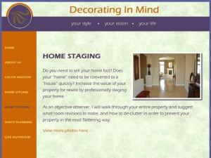Decorating in Mind