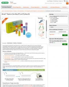 Bio-Rad Product Page Sample